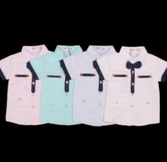 پیراهن پسرانه 110114 سایز 6 تا 36 ماه ZY&UP