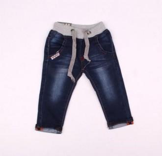 شلوار جینز پسرانه 110184 سایز 6 تا 36 ماه مارک BABY