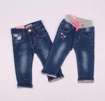 شلوار جینز دخترانه کد1 110197 سایز 6 تا 36 ماه مارک HANDSOME