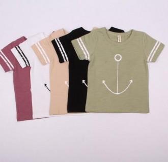 تی شرت پسرانه 110198 سایز 2 تا 6 سال مارک DAJIAONIU