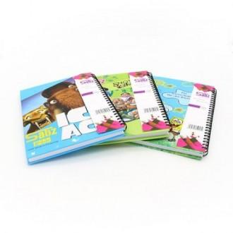 دفتر 100 برگ جلد سخت 17114 (KH) طرح فانتزی