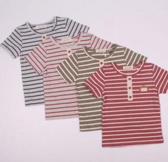 تی شرت پسرانه 110202 سایز 2 تا 6 سال کد 2 مارک XZAU KIDS