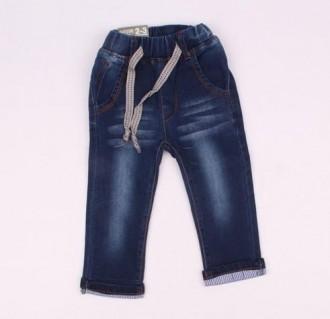 شلوار جینز پسرانه 110214 سایز 2 تا 14 سال مارک hands some