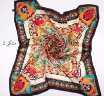 روسری مامی ابریشمی 11606 کد 2