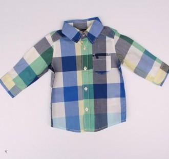 پیراهن پسرانه 16182 سایز 3 ماه تا 5 سال مارک Carters