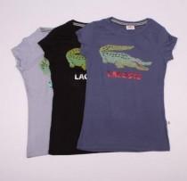 تی شرت زنانه 100628 کد 19 مارک LACOSTE