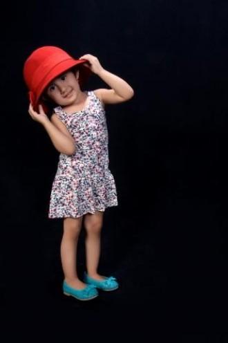 سارافون دخترانه 40016 سایز 12 ماه تا 3 سال مارک H&M