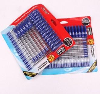خودکار آبی 20 عدد 16469 tyno ball pen