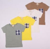 تی شرت پسرانه 110201 سایز 2 تا 6 سال کد 1 مارک DOU DOUS ZHAN