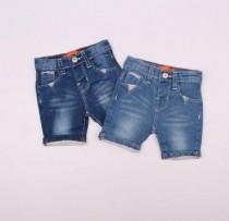 شلوارک جینز دخترانه 110243 سایز 6 تا 36 ماه مارک Denim