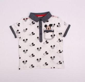 تی شرت پسرانه 110279 سایز 1.5 تا 4 سال مارک MICKEY