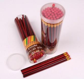 مداد مشکی پاکن دار 50 عددی 16483