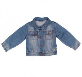 ژاکت جینز دخترانه 16202 سایز 6 ماه تا 2 سال مارک baby club