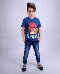 تی شرت پسرانه 110390 سایز 3 تا 12 سال مارک H&M