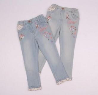 شلوار جینز دخترانه 110291 سایز 1.5 تا 4 سال