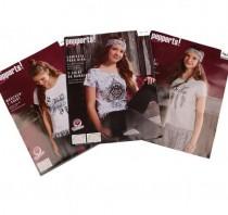 تی شرت دخترانه 16283 سایز 9 تا 16 سال مارک PERPPERTS