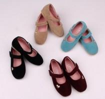 کفش مخمل دخترانه 16454 سایز 25 تا 30 مارک BUBBE BEAR