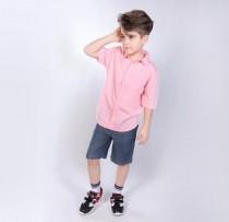 پیراهن پسرانه 110321 سایز 6 تا 14 سال مارک ZARA