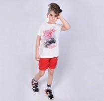 تی شرت پسرانه 110449 سایز 18 ماه تا 7 سال مارک F&F