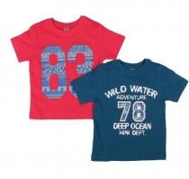 تی شرت پسرانه 16044 سایز 2 تا 12 سال