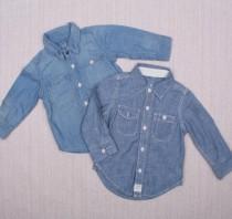پیراهن جینز دخترانه 110554 سایز 3 ماه تا 8 سال مارک BABY GAP