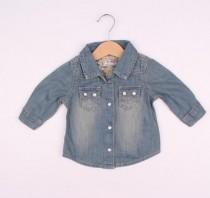پیراهن جینز 110619 سایز 3 ماه تا 6 سال مارک NEXT