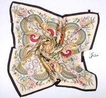 روسری مامی ابریشمی 11606 کد 1