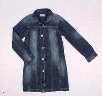 مانتو جینز دخترانه 110718 سایز 3 تا 12 سال مارک next
