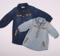 مانتو جینز دخترانه 110722 سایز 3 ماه تا 4 سال مارک next