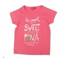 تی شرت دخترانه 13875 سایز 2 تا 8 سال کد 5