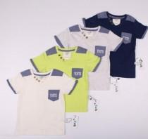 تی شرت پسرانه 13988 سایز 2 تا 12 سال مارک NAEH