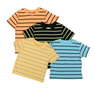 تی شرت پسرانه 13944 سایز بدوتولد تا 36 ماه مارک JUNIORS
