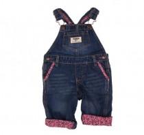 پیشبنددار جینز دخترانه 13934 سایز 3 ماه تا 5 سال مارک OSHKOSH