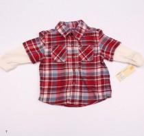 پیراهن پاییزه پسرانه 110847 سایز 12 ماه تا 5 سال مارک CHEROKEE