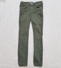 شلوار جینز دخترانه (زخمی) 13984 سایز 32 تا 44 مارک ZARA