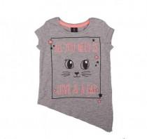 تی شرت دخترانه 13956 سایز 2 تا 7 سال مارک KIKIA KOKO