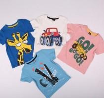 تی شرت پسرانه 13954 سایز 3 تا 8 سال مارک KIKIA KOKO