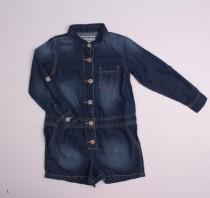 سرهمی شورتی جینز دخترانه 110618 سایز 4 تا 13 سال مارک NEXT