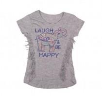 تی شرت دخترانه 13889 سایز 4 تا 12 سال مارک PENY TOIES
