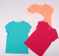 تی شرت دخترانه 13884 سایز 8 تا 12 سال مارک KIABI