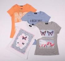 تی شرت دخترانه 13842 سایز 8 تا 15 سال مارک PAGE