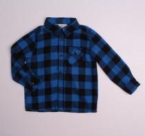 پیراهن ضخیم (گرم) پسرانه 110955 سایز 1.5 تا 9 سال مارک H&M