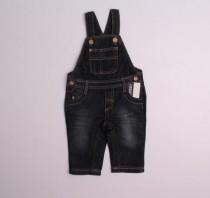 پیشبندار جینز پسرانه 110765 سایز 3 تا 36 ماه مارک INECTENSO