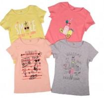 تی شرت دخترانه 13839 سایز 4 تا 14 سال