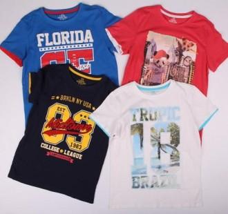 تی شرت پسرانه 13837 سایز 7 تا 8 سال مارک TEX