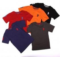 تی شرت پسرانه 13853سایز 2 تا 18 سال  u.s.poloassn