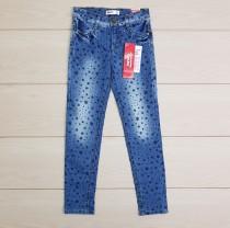 شلوار جینز دخترانه 11503 سایز 8 تا 14 سال مارک GeeJay