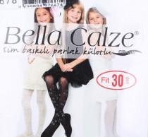 جوراب شلواری 11405 سایز 2 تا 14 سال کد 3 مارک Bella Calze