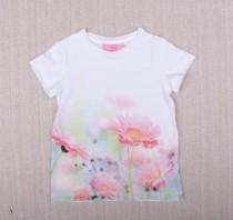 تی شرت دخترانه 13627 سایز 3 تا 9 سال مارک OVS