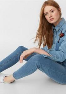 شلوار جینز زنانه 13684 Mango